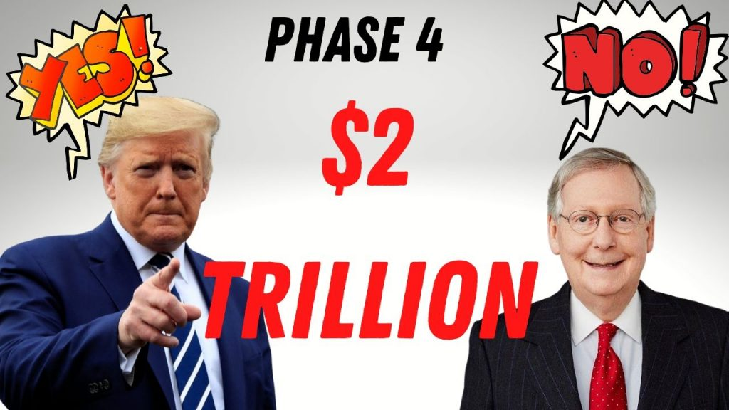 Trump Calls for $2 Trillion Phase Four Stimulus